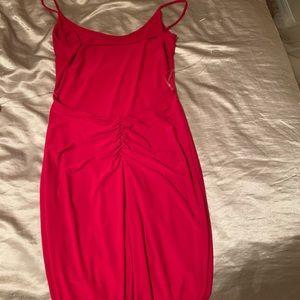 A skin tight dress.